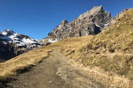 Surenenpass Wanderung Brüsti Fürenalp Engelberg