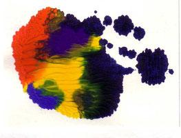 L'encre multicolore