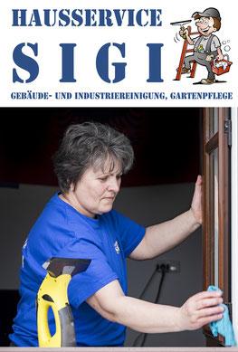 Rundherum sauber mit Hausservice-Sigi Mitarbeitern