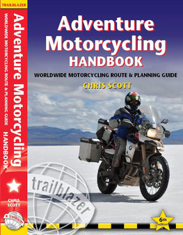 Adventure Motorcycling Handbook Cover