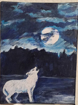 inspiriencer Weisswolf by artcrestani