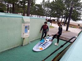 ウインドサーフィン 海の公園 speedwall スピードウォール 初心者 スクール 体験 横浜
