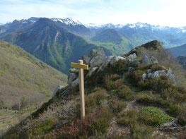 Panorama en plein vent au Pic de Narbissat