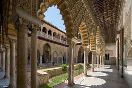 Visite guidée du Palais Royal de Séville., Alcazar.