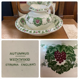 Wedgwood Pitcher and Bowl Set $125.00