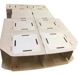 Holztyp Eco (hier Variante BaseCamp Kili)