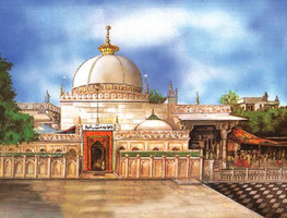 Dargah Sharif A Painters View from facebook