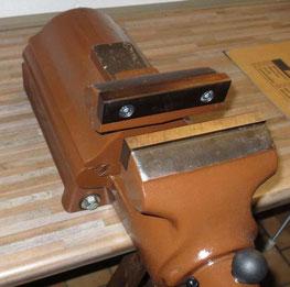 Schraubstockbacken Boley 150