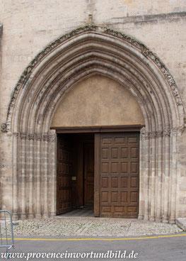 Bild: Forcalquier Cathédrale Notre-Dame-du-Bourguet