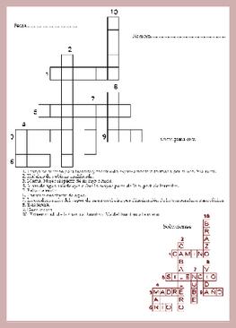 Excelente actividad la de hacer crucigramas y cualquier pasatiempo en papel