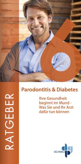 Broschürentitel Parodontitis und Diabetes