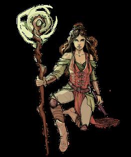 Lea, Hauptfigur in Die Tore der Zeit