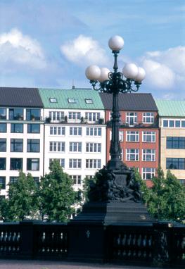 Sitz der PCE am Ballindamm 8, Hamburg