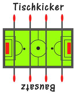 Bild: Logo von Tischkicker-Bausatz.