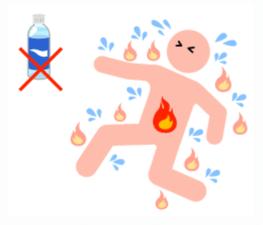 熱中症でなぜ頭痛?って思いますよね。頭痛の原因は様々です。熱中症頭痛の原因を説明します。