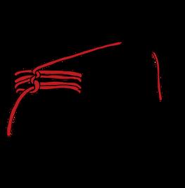 パイプへのロープの縛り方8