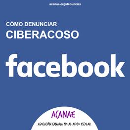 Cómo denunciar un caso de ciberacoso / ciberbullying en Facebook