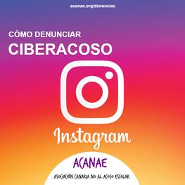 Cómo denunciar un caso de ciberacoso / ciberbullying en Instagram