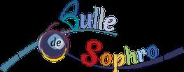 Logo réalisé par Cloé Perrotin pour la sophrologue Pascale Bridoux-Ruelle de Bulle de Sophro