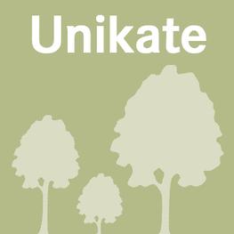 Button Unikate, grün mit 3 hellgrünen Bäumen