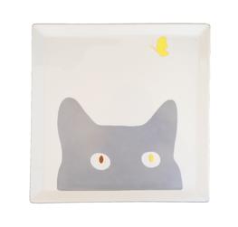 Les chats curieux de Nara Porcelaine