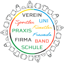 Textildruck für Verein, Sportler, Firma, Praxis, Uni, Schule, Band, Künstler