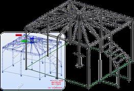 Calculs de structure suivant norme EUROCODE 9