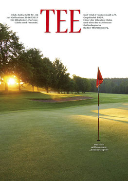 Golfclub-Magazin für die Golfsaison 2017 in Freudenstadt