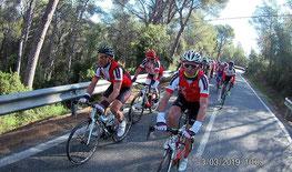 Col del Guix: premier col du stage