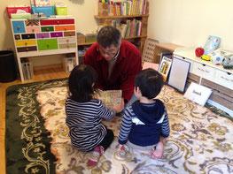 幼児クラスの様子・・絵本が大好きです