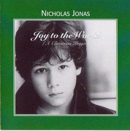nicholas nick jonas brothers broadway joy to the world a christmas prayer single demo 2002 rare cover