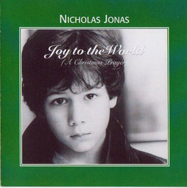 nicholas nick jonas brothers broadway joy to the world a christmas prayer single demo 2002 rare cover