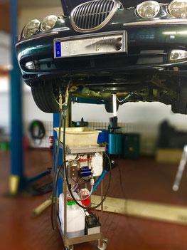 Getriebespülung Jaguar