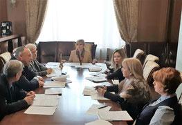 Финансовый университет и Евразийская экономическая комиссия обсудили концепцию особого статуса трудящегося государств-членов ЕАЭС, 23 января 2020