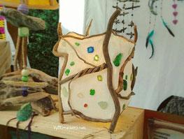 lámpara de mesa, madera de mar, madera deriva, decoración ecológica, cristales de mar, playa antromero, asturias, vymcreaciones, driftwood lamp, driftwood art