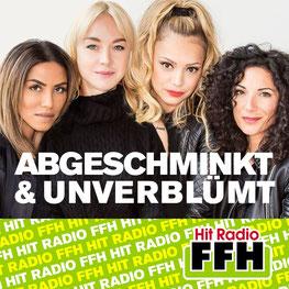 Hit Radio FHH-Podcast - Abgeschminkt & Unverblümt - Radost Bokel, Sabrina Setlur, Janina Russ & FFH-Moderatorin Evren Gezer