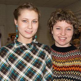 Настя и Лена Карасевы