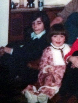 Ричард и Луиза в детстве