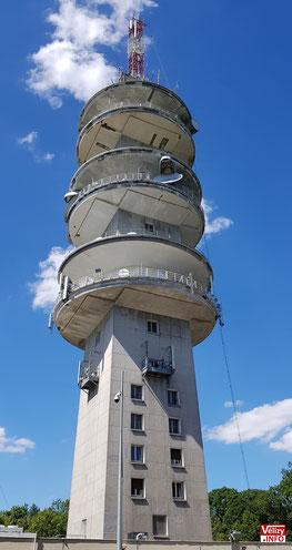 Tour hertzienne et de télécommunication de Meudon.