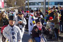 Straßenkarneval in Attendorn