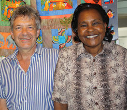 """Joseph"" Fokko Doyen with ""Mary"" Paula Karanja"
