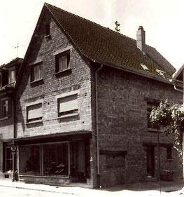 Haus nach dem Umbau 1958