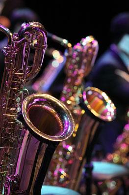 サックス(サクソフォン)、合奏