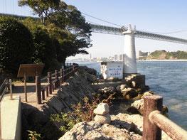 関門海峡の写真