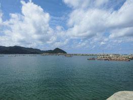 涌田漁港 の写真