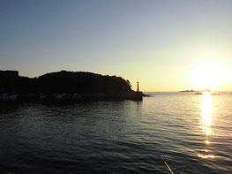 特牛漁港の写真