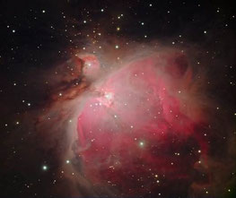 Foto: Werner Stupka, Emissionsnebel M42