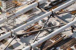 Auf allen Kleinbaustellen ist der Bauführer nicht ständig anwesend.