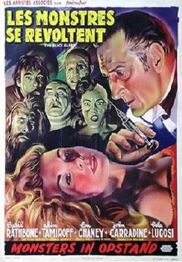 Les Monstres se Révoltent de Reginald Le Borg - 1956 / Horreur