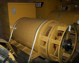 Generator end Caterpillar SR4. 1825Ekw/400V/50Hz. Frame 827 - Lamy Power special deal